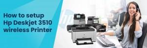 Setup HP Deskjet 3510 Wireless Printer