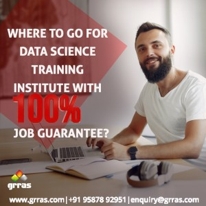 Where to go for Data Science Training Institute with 100 percent Job Guarantee?