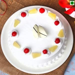 tasty eggless cake