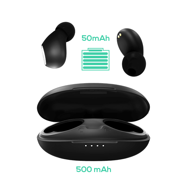 Bazzpod Bean - Best Truly Wireless Earbuds with long battery life