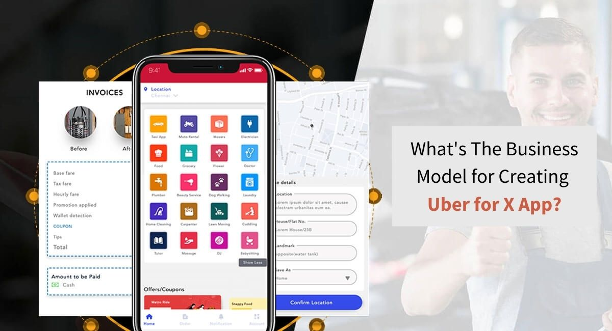 Creating a Uber for X app