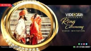 Engagement invite video