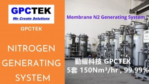 Membrane N2 generating system