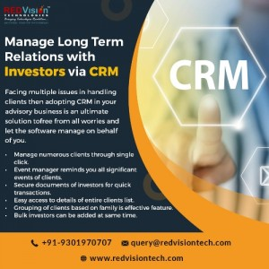 Mutual fund software CRM_redvision