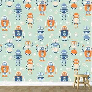 Robot-Kids-Wallpaper-for-Walls