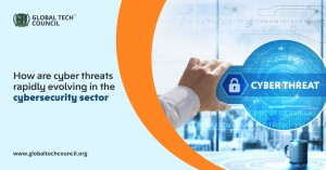 How are cyber threats rapidly evolving in the cybersecurity sector
