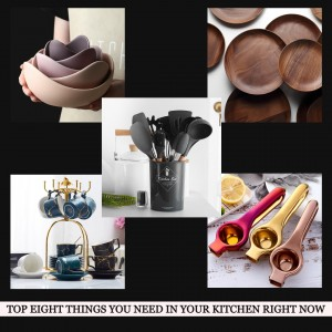 Top Eight Things You Need In Your Kitchen Right Now from Haus Hooga