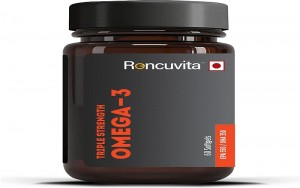Triple strength omega-3 fish oil