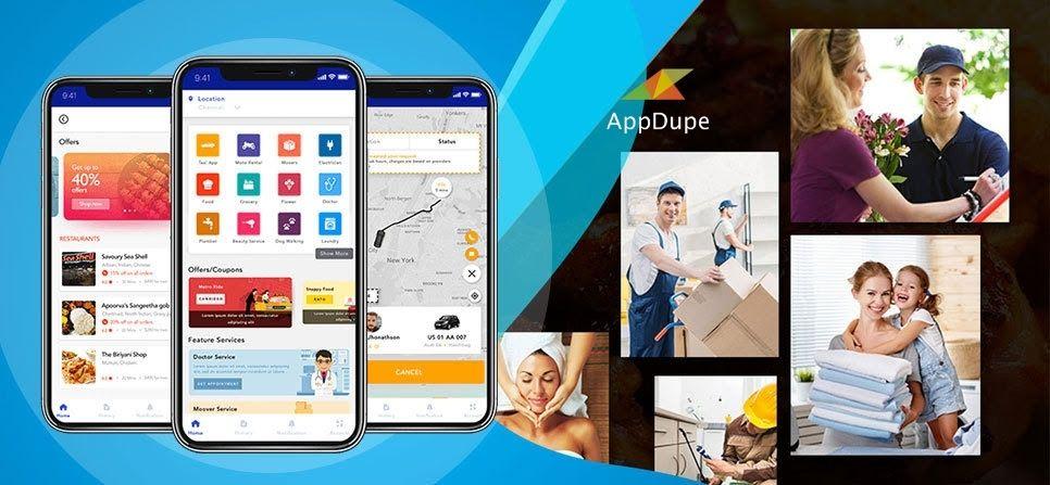 Launch Multi Services App Banner