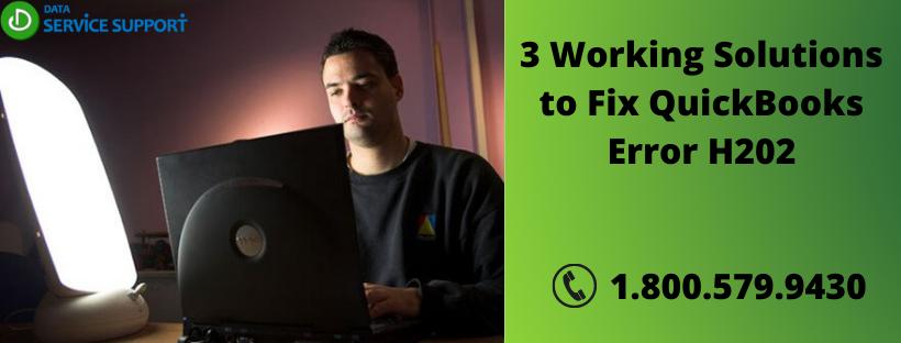 3 Working Solutions to Fix QuickBooks Error H202