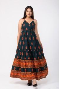 JAVTA - Ethnic Wear For Women - Green