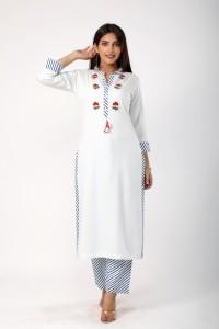 Javta Best Ethnic Wear For Women - White