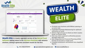 Mutual fund Software For Distributors in India