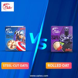 Steel-cut-oats-vs-rolled-oat