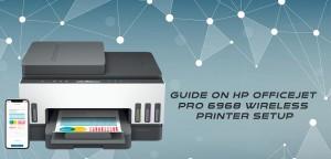 Guide on HP Officejet Pro 6968 Wireless Printer Setup